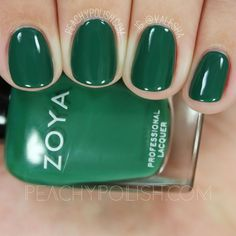 Zoya Wyatt | Fall 2016 Urban Grunge Collection | Peachy Polish #green