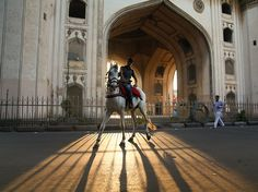 A boy sits atop his horse at sunrise in Hyderabad, India, in this National Geographic Photo of the Day. National Geographic Society, National Geographic Photos, Horse Silhouette, Silhouette Images, New Pictures, Cool Photos, Beautiful Pictures, Places Around The World, Around The Worlds