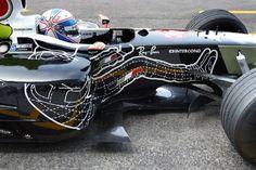 BAR Honda driver outline #Monaco #F1