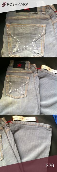 People's liberation courderouy pant New boot leg 41' length peoples liberation Pants Boot Cut & Flare