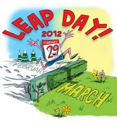 Today is Leap Day Today is a special day! Today is February Normally, there are only 28 days in February. We celebrate Leap Year every four years. Leap Year Birthday, Happy Birthday, Birthday Poems, Leap Year Babies, Happy Leap Day, February Holidays, Today In History, Groundhog Day, Activities To Do