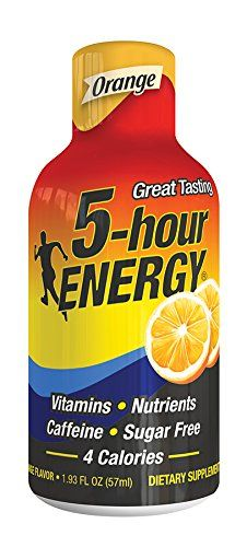 5 Hour Energy Energy Shots, Orange, 12 pk >>> You can get more details by clicking on the image.