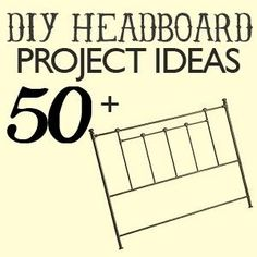 Over 50 Amazing Headboard DIY Projects! - Click image to find more DIY & Crafts Pinterest pins by Laura France Moseley