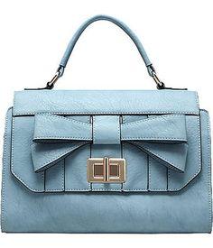 """Melie Bianco """"Madeline"""" Satchel Handbag (H6332) - http://handbagscouture.net/brands/melie-bianco/melie-bianco-madeline-satchel-handbag-h6332/"""