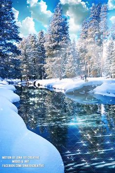 Merry Christmas Gif, Christmas Scenery, Christmas Images, Beautiful Nature Pictures, Amazing Nature, Beautiful Landscapes, Foto Fantasy, Animated Love Images, Autumn Scenery