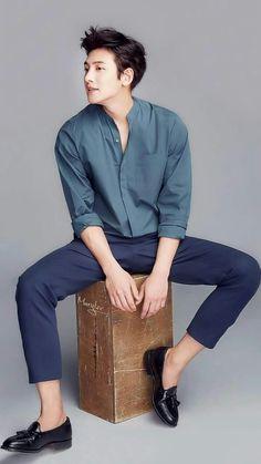 ❤❤ 지 창 욱 Ji Chang Wook ♡♡ that handsome and sexy look . Korean Men, Asian Men, Asian Boys, Asian Actors, Korean Actors, Stylish Mens Outfits, Cool Outfits, Ji Chang Wook Photoshoot, Formal Men Outfit