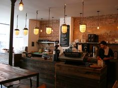 Café – Kitsuné Espresso Bar, Montreal