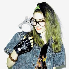 Electronica artist Grimes - interview