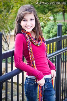 The Pippy Crochet Scarf by sewstacy, $20.00