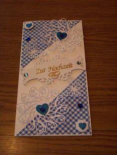 Grußkarte zur Hochzeit von Sternchen0568 auf DaWanda.com