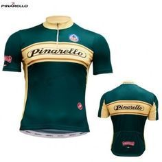 Pinarello retro cycling jersey short sleeve green - Cycling Outfits Ltd. | Company # 9143705