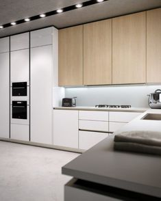 Stylish kitchen cabinet designs for the modern kitchen - Decoration Solutions Glass Kitchen Cabinet Doors, Farmhouse Kitchen Cabinets, Modern Kitchen Cabinets, Kitchen Cabinet Design, Interior Design Kitchen, Kitchen Decor, Kitchen Modern, Glass Doors, Bath Cabinets