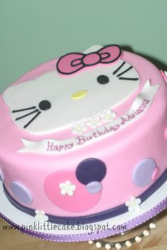 Cute Hello Kitty Cake!