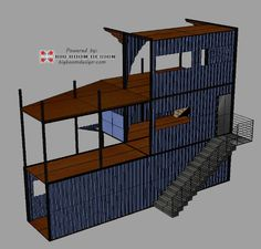 Conex Box House | Pinterest | Shipping container houses, Warehouse on log loft design, sea can house design, stacked conex box design, conex house plans, soap box house design, cabin interior design, conex container home design, 12 x 14 one room cabin design, storage building house design, conex hunting, shipping containers house design, conex house kits,