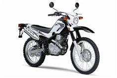 My motorcycle = Yamaha XT250