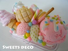 Find images and videos about kawaii, sweets and deco on We Heart It - the app to get lost in what you love. Decoden Phone Case, Kawaii Phone Case, Cute Phone Cases, Iphone Cases, Biscuit, Kawaii Dessert, Cute Polymer Clay, Fimo Clay, Kawaii Shop