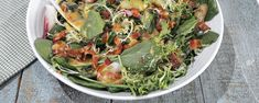 Frisee and Endive Salad with Potatoes and Bacon Recipe   The Chew - ABC.com