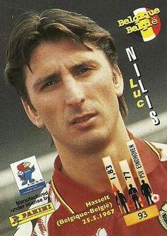 1998 Panini World Cup #93 Luc Nilis Back
