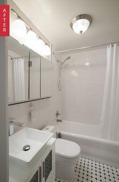 Before & After: A Manhattan Bathroom Redo — Sweeten