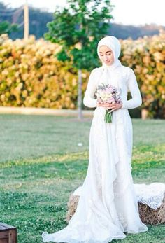 Modest Bride ♥ Muslimah fashion & hijab style