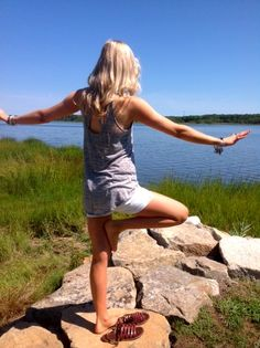 Get out and be active! Do more yoga :)