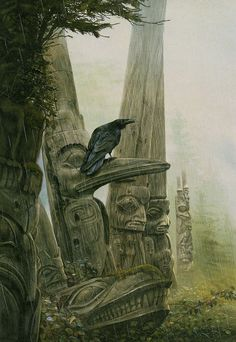 Winter of the Raven by John Howe