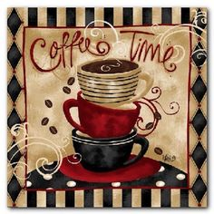 My Coffee Theme Kitchen Art Wall Decor For Themes