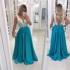 A-Line Beaded Lace Long Prom Dresses Formal Evening Gowns 6011455 Long Prom Dresses Uk, Prom Dresses With Pockets, Affordable Prom Dresses, Unique Prom Dresses, Lace Evening Dresses, Prom Dresses Online, Evening Gowns, Formal Dresses, Prom Dress Shopping