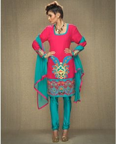 I love colorful Indian clothing