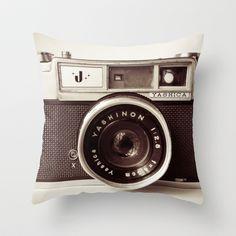 Para los aficionados a la #fotografía #instagram Camera cushion by Tuky Waingan on Society CC @canarias_viva