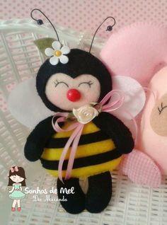 abelhinha feltro e tecido - Pesquisa Google