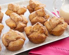 The delicious flavor of cinnamon added to our melt in your mouth biscuits!