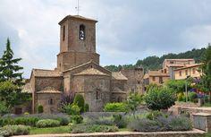 Monestir de Santa Maria de l'Estany, al poble de l'Estany, al Moianès (Catalonia) #qualitat #sicted