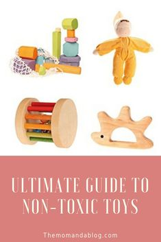 The Ultimate Guide to Non-toxic Toys for Babies and Toddlers We all agree that we want the best for our babies and growing toddlers. As a consumer, it's important to research all the options… The Ultimate Guide to Non-Toxic Toys for Babies and Tod Bath Toys For Toddlers, Toddler Toys, Kids Toys, Girl Toddler, Hippie Baby, Montessori Baby Toys, Montessori Activities, Baby Bath Toys, Green Toys