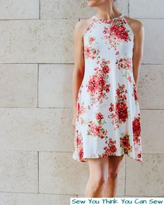 The Summer Dress – Sew You Think You Can Sew Hacking a raglan top to make an awesome summer dress