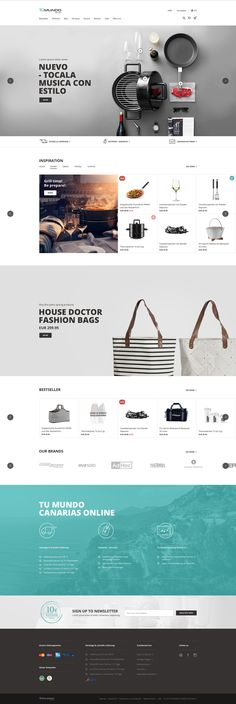 Tu Mundo Online on Behance