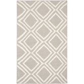 Found it at Wayfair - Emalla Grey & Ivory Area Rug