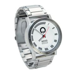 Novo Watch the MAYHEM Silver and White Stainless steel Men's Analog Sports Watches NOVO watch http://www.amazon.com/dp/B00J44XSIE/ref=cm_sw_r_pi_dp_bOBQtb0J3BD5HN51