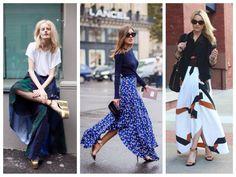 Модный беспредел, или с чем носить юбку макси  В современной моде юбка в пол…