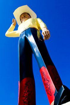 Cowboy Statue, Amarillo, Texas