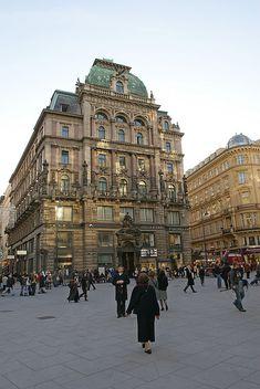 Stephansplatz, Wien, Austria
