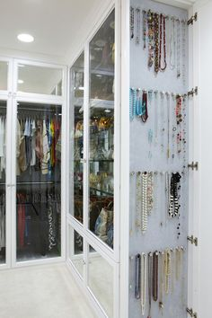 Inspiring Spaces - Closets - Whats Ur Home Story - THERE WAS A TIME WHEN I COULD HAVE USED THE CABINET FOR THE NECKLACES.