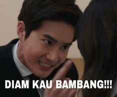 Ideas Memes Indonesia Exo For 2019 Memes Funny Faces, Funny Kpop Memes, Exo Memes, Cute Memes, K Meme, Dankest Memes, Funny Tweets Twitter, Got7 Funny, Drama Memes