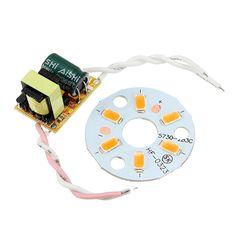 3W 5W 7W 9W 12W 15W 18W 24W 5730 SMD LED Chip Board Panel For Ceiling Light with AC85-265V Driver
