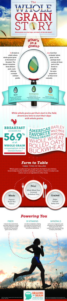 What's in a grain? Where do we consume the most grains?  What are our favorite grains? See the stats and learn more!