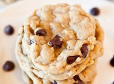 Chocolate Chip Peanut Butter Oatmeal Cookies (