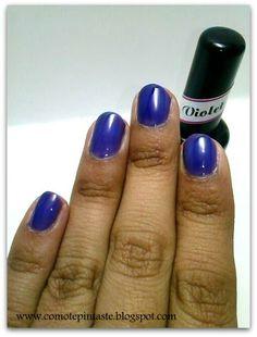 3 ideas para usar la colección Luminiscentes de Dulce Diallo  #nails #uñas #comotepintaste #esmaltes #polish #terminados #reviews #luminiscentes #vitral #dulcediallo #swatches #violeta #purple