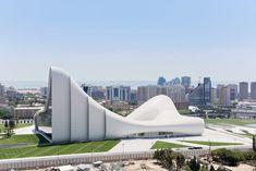 Heydar Aliyev Center by Zaha Hadid, Baku, Azerbaijan