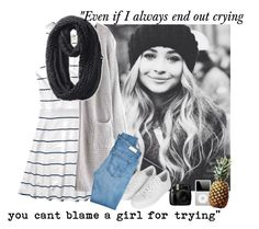 """""""Sabrina Carpenter// Requested set"""" by bluefootprints ❤ liked on Polyvore featuring Abercrombie & Fitch, Topshop, The North Face and AG Adriano Goldschmied"""