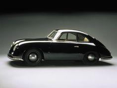 Black Porsche 356 #porsche #356